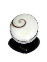 Anillo de plata Ojo de Mod Oval