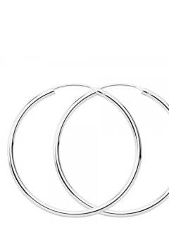 Silver Hoops and Earrings - 55mm sterling silver hoops [PLAR55] to buy in bulk or in detail in the category of Alternative Ethnic Hippie Jewelery.