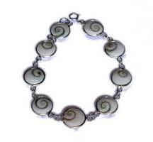 ZAS robapinzas.com | Pulsera plata ojo de shiva 9 piezas pequeña