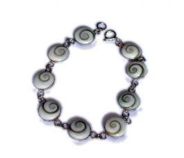 ZAS robapinzas.com | Pulsera plata, Ojo de Shiva, oval