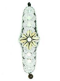 Pulsera étnica ancha flor conchas, para comprar al por mayor o detalle  en la categoría de Complementos y Accesorios Hippies  Alternativos  | ZAS.[PUAB03]