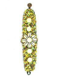 Breite ethnische Armband Blumenschalen, um Großhandel oder Detail in der Kategorie Bohemian Hippie Fashion Accessoires | zu kaufen ZAS. [PUAB03]