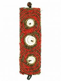 Ethnic wide multi-bead bracelet, to buy wholesale or detail in the Bohemian Hippie Fashion Accessories category | ZAS. [PUAB12]