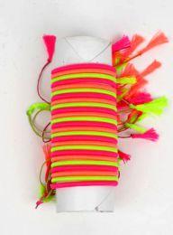 pulsera fina de hilo en colores Mod Fluorescente