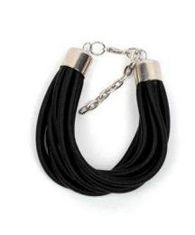pulsera gruesa de hilo multivueltas Mod Negro
