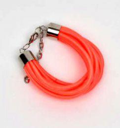 pulsera gruesa de hilo multivueltas Mod Naranja fosfi