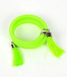 Outlet Hippie Costume Jewelery - Thick multi-twist thread bracelet in plain and phosphorescent colors [PUBOU06] to buy in bulk or in detail in the Alternative Ethnic Hippie Outlet category.