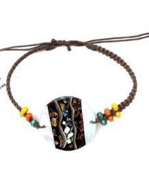 Pulsera hippie macramé Mod 137