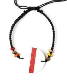 Hippie macramé shell bracelet., Para comprar atacado ou detalhe na categoria de Bohemian Hippie Fashion Accessories | ZAS. [PUCPU1]