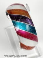 Pulseras Hippie Etnicas - Pulseras en cristal Pyrex PUCR2 - Modelo M-7