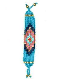 Pulsera hippie étnica Mod Azul tu