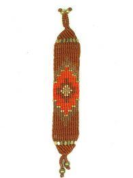 Pulsera hippie étnica Mod Marrón