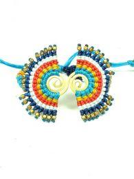 Pulsera hippie étnica Mod Azul bl
