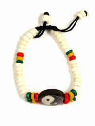 Pulsera hippie hueso PUHU21 para comprar al por mayor o detalle  en la categoría de Complementos Hippies Alternativos.