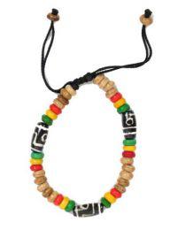 Bracelet ethnique en perles d'os. bracelet fabriqué par des artisans tibétains, à acheter en gros ou en détail dans la catégorie Alternative Ethnic Hippie Outlet | Boutique ZAS Hippie. [PUHU22]
