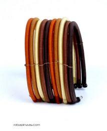 Bracelet en coton rigide multicolore 10 lignes PULI02 à acheter en gros ou détail dans la catégorie Alternative Ethnic Hippie Outlet | Magasin ZAS Hippie.