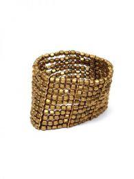 Bracelet hippie large en métal, composé de 10 lignes élastiques, pour acheter en gros ou en détail dans la catégorie Vêtements pour femmes Hippie   Boutique alternative ZAS. [PUMG08]
