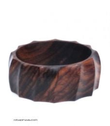 Wide wooden bangle bracelet PUPA03 to buy wholesale or detail in the category of Alternative Ethnic Hippie Jewelery.