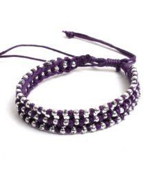 Baumwolle Hippie Armband zum Großhandel oder Detail in der Kategorie Alternative Ethnic Hippie Schmuck und Silber kaufen | ZAS Online Store [PUVI31].