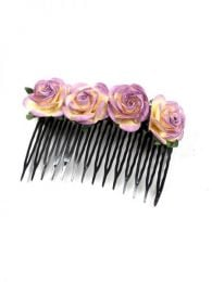 Flower Comb, to buy wholesale or detail in the Bohemian Hippie Fashion Accessories category | ZAS. [PZFLP01]