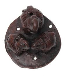 3 elephant ceramic incense burner QUE2 to buy in bulk or detail in the Handicrafts category.