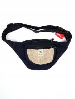 Hemp Backpacks and Waist Bags - Classic bicolor hemp belt bag [RIHC01] to buy wholesale or retail in the Alternative Hippies Accessories category.