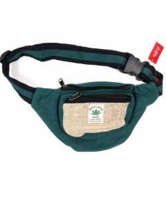 Sac ceinture classique en chanvre bicolore RIHC01 à acheter en gros ou en détail dans la catégorie Alternative Ethnic Hippie Outlet.