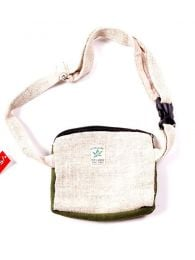 Bicolor hemp belt bag RIHC02 to buy wholesale or detail in the category of Hippie Clothing for Men.