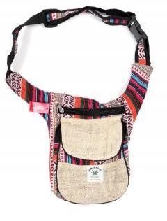 Riñonera Cartuchera de Cáñamo,  para comprar al por mayor o detalle  en la categoría de Complementos y Accesorios Hippies  Alternativos  | ZAS. [RIKA05]
