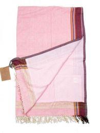 Écharpes et paréos - Le Kikoy est le vêtement RTKI01 - Modèle rose