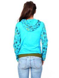 Sudaderas chicas - Sudadera bicolor con capucha SUEV05.