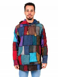 Hippie Patchwork Sweatshirt. to buy wholesale or detail in the category of Hippie and Alternative Clothing for Men | ZAS Hippie Shop [SUEV06].