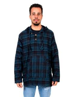 Hippie flannel sweatshirt. SUEV06B to buy wholesale or detail in the category of Hippie and Alternative Clothing for Men | ZAS Hippie Store.