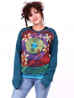 Girls sweatshirts - Patch ripped and crochet sweatshirt [SUEV09] to buy wholesale or detail in the category of Hippie Clothing for Women.
