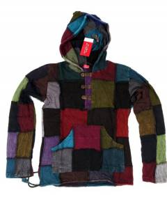 Patchwork Hippie Sweatshirt. SUHC02, um Großhandel oder Detail in der Kategorie Alternative Ethnic Hippie Jewelry zu kaufen.