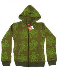 Sudadera de algodón Mod Verde