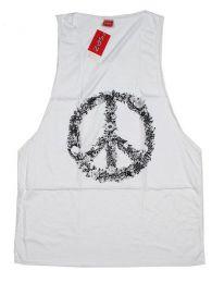 Camiseta de tirantes algodón Mod Blanco
