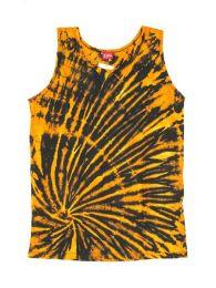Camiseta tirantes 100% Mod Amarillo