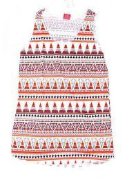 camseita tirantes estampado Mod Naranja