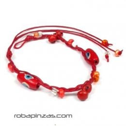 TOCU-C decorated wooden beads anklet to buy wholesale or detail in the Hippie Clothing for Women category.