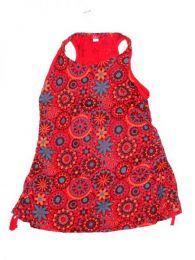 Top blusa de algodón Mod Rojo