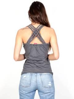 Top multi cinturino liscio TOHC05 da acquistare all'ingrosso o dettaglio nella categoria di Abbigliamento Hippie da Donna | Negozio alternativo ZAS.