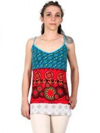 Top y Blusas Hippie Boho Ethnic - Top étnico , espalda TOHC08.