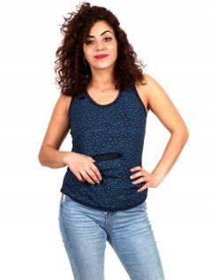 Top hippie con bolsillo TOHC11 para comprar al por mayor o detalle  en la categoría de Ropa Hippie de Mujer | ZAS Tienda Alternativa.