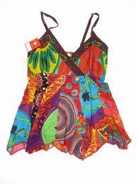 Top hippie patchwork con tirantes Mod 163