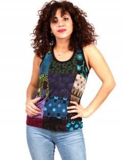 Top Patchwork Hippie, para comprar no atacado ou detalhe na categoria de Jóias Alternativas Étnicas Hippie e Prata | ZAS Online Store. [TOHC18]