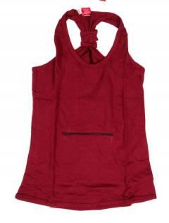 Camisetas, blusas e tops - Top básico hippie, TOHC34 - modelo marrom