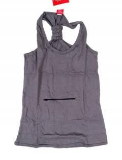 Camisetas Blusas e Tops - Top hippie básico, TOHC34 - Modelo cinza