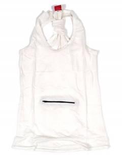 Camisetas Blusas e Tops - Top básico hippie, TOHC34 - Modelo Branco