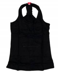 Camisetas, blusas e tops - Top hippie básico, TOHC34 - Modelo preto
